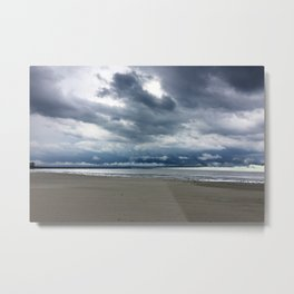 Cedar Point Beach, Sandusky Ohio Metal Print