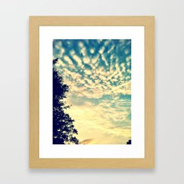AfternoonSky Framed Art Print