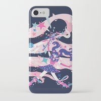 magical girl iPhone & iPod Cases featuring magical girl by Kyungmi Park