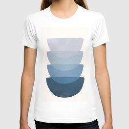 Blue Stack 01 T-shirt