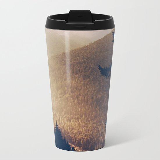 Sunrise in the Mountains  Metal Travel Mug