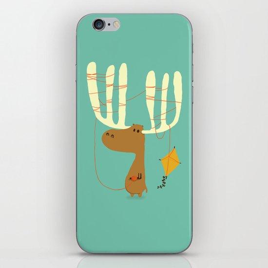 A moose ing iPhone & iPod Skin