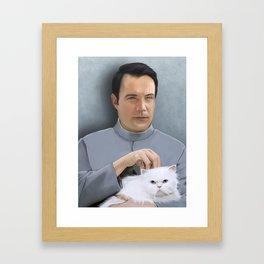 Dr. Evil Arthur Ketch Framed Art Print