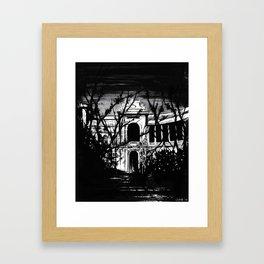 Palais Longchamp reimagined Framed Art Print