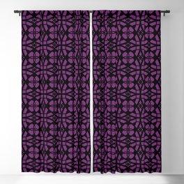 Purple Apocalypse Blackout Curtain