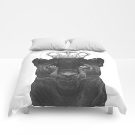 The King Panther Comforters