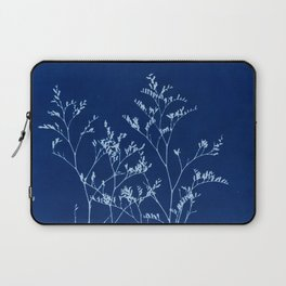Limonium Cyanotype, Herbal Sunprint, Solar Herbalism Laptop Sleeve