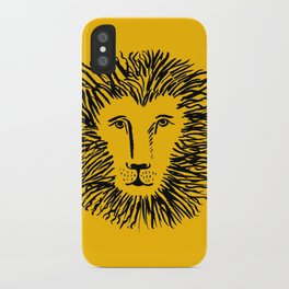 Heart of a Lion iPhone Case