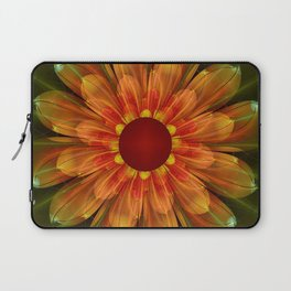 Artistic fantasy succulent flower Laptop Sleeve