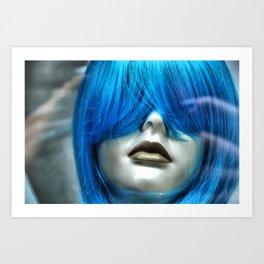 Blue Maven Art Print
