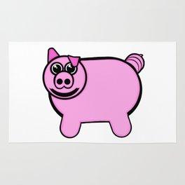 Stuffed Pig Rug