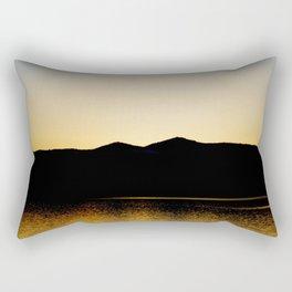 Gold Reflex Rectangular Pillow