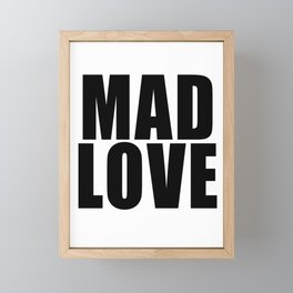 Mad Love Framed Mini Art Print