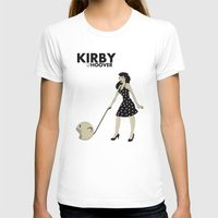 kirby T-shirts featuring Kirby Hoover by Lily's Factory