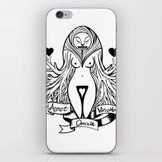 Love conquers all iPhone & iPod Skin
