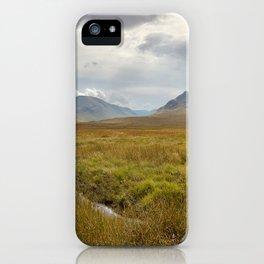 Glencoe, Scottish Highlands iPhone Case