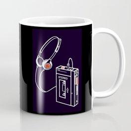 Walkman Tape Player Audio Analog Cassette Old School Music Geek Vintage Design Coffee Mug