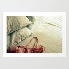Bed Clothes Art Print