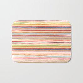 Robayre Watercolor Lines Bath Mat