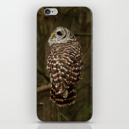 I hear the forest growing iPhone Skin