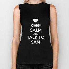 Seriously, talk to Sam! Biker Tank