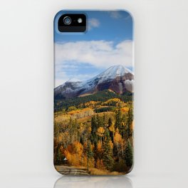Autumn Sea iPhone Case