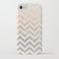 silver iPhone & iPod Cases featuring GOLD & SILVER  by Monika Strigel
