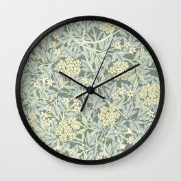 "William Morris ""Jasmine"" 1. Wall Clock"