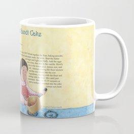 Lemon Poppy Seed Bundt Cake Coffee Mug