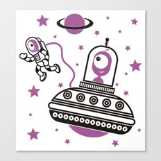 space Purple! Canvas Print