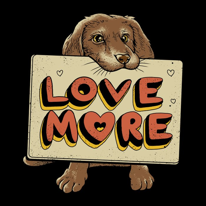 Love More Duvet Cover