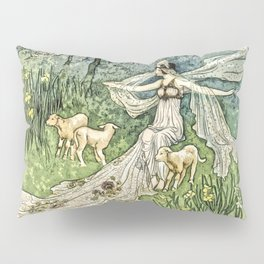 Fairy in the Meadow Pillow Sham