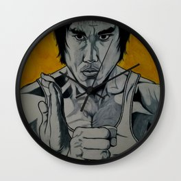 The Master Of Kung Fu Wall Clock