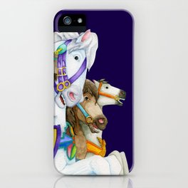 Carousel Horse - Perpetual Race iPhone Case