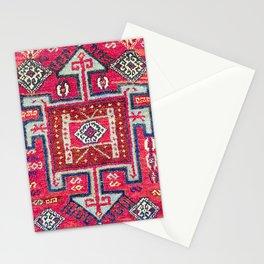 Malatya  Antique Kurdish Turkish Rug Print Stationery Cards