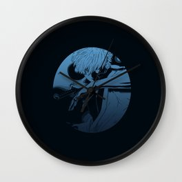 Blue Gin Wall Clock