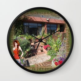 Clovelly - Western Cape Wall Clock
