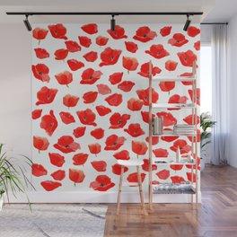 Poppy Field Wall Mural