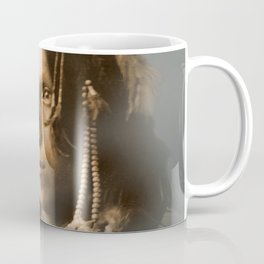 Peter Iron Shell, Sioux Indian Coffee Mug
