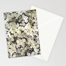 Lacy leaves Stationery Cards
