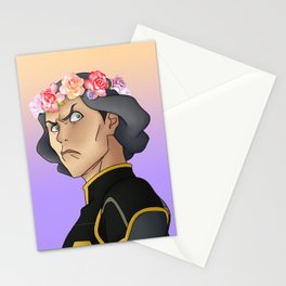 Lin Beifong - Flower Crown Stationery Cards
