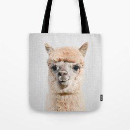 Alpaca - Colorful Tote Bag