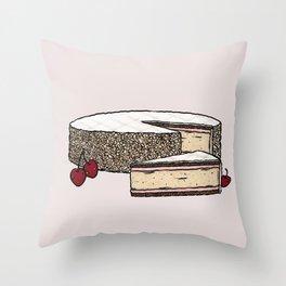 Z is for Zuger Kirschtorte Throw Pillow