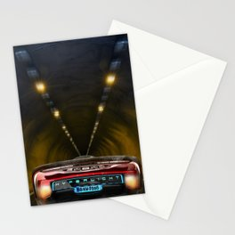 Electric car Stationery Cards