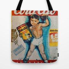 Vintage Cola Cao Tote Bag