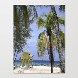 Caribbean lookout Canvas Print