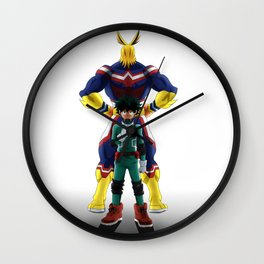 My Hero Academia Wall Clock
