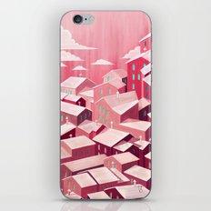 pink city iPhone & iPod Skin