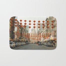Chinatown, New York City Bath Mat