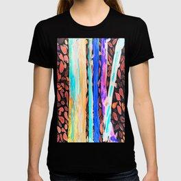 Rainbow Eucalyptus Graffiti artist tree Tries to get ready for the Fall Autumn T-shirt